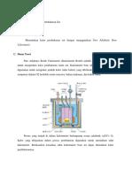 Pratikum Bomb Calorimeter