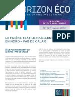 La Filière Textile Habillement Février 2013