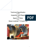 Appendix 6a - Technical Specifiction Spare Rotor Repair T10 and T20