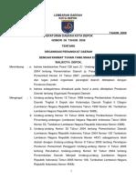 Perda Tahun 2008 Nomor 08 Tentang Organisasi Perangkat Daerah