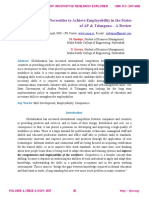 Skill Development Necessities to Achieve Employability in the States of AP & Telangana – A Review http://ijire.org