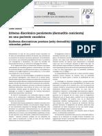 Dermatosis Cenicienta 2017