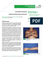 Dermatosis Cenicienta 2015