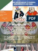 Crisis de Los Misiles y Carrera Armatentista en Cuba