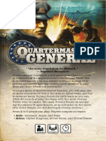 Quartermaster General Board Game Rules