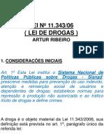 Lei de Drogas e Lei Maria Da Penha