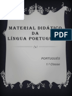 Língua Portuguesa - 1.ª Classe