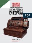 Informe de auditoría del sector público en España