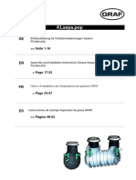 Instructiuni Montaj Separator - EBA_Fettabscheider