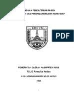 316574847 Panduan Pendaftaran Pasien Rawat Jalan Dan Penerimaan Pasien Rawat Inap