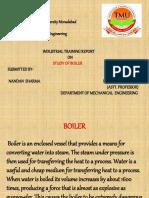 study of boiler presentation