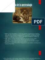 Historia de La Anestesiología 1 Ppts