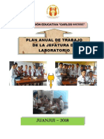 Plan Anual de Trabajo - Laboratorio 2018