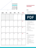 Calendario Marco Ciencias