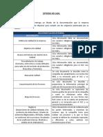 Documentación Para Un Sistema de Gestión de Calidad