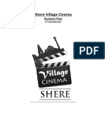 Shere Village Cinema Business Plan