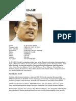 Profil Alwi Hamu
