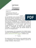 Coeficiente de Joule Thomson