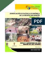 Suelos y Capacidad de Uso Mayor ZEE San Martín