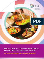 ILSI SEA Region Report on Food Composition Tables Jan 2017