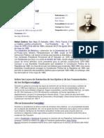 Rafael Zaldívar Biografia Presidente de El Slavdor