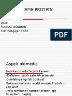 Metabolisme Protein Modif