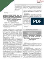 Modifican el Reglamento de Organización y Funciones del Consejo Nacional de la Magistratura
