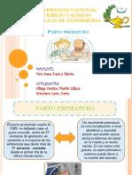 Diapositiva Oficial de Parto Prematuro