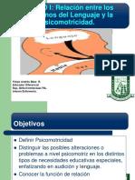 CLASE 1 PSICOMOTRICIDAD Relacin Entre Los Trastornos Del Lenguaje y La Psicomotricidad...