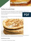 Tortitas de avena Dukan   Tortitasamericanas.net