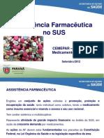 Aula 7 Assistc3aancia Farmacc3aautica Suzan Cemepar 2012 1