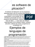 software de aplicación eduardo flew