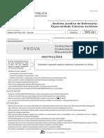 Fcc 2018 Dpe Am Analista Juridico de Defensoria Ciencias Juridicas Prova