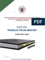 GUÍA TFM 2017-18