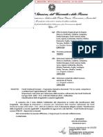 Nota Trasmissione Addendum Irregolarità Protocollata