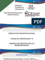 Unidad 1 Modelo de Negocio Micro Finanzas. Completo