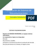 Curso Planeamiento de sistemas de Telecomunicaciones  PRIMERA CLASE  2018.pptx