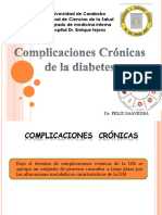 Complicaciones Cronicas de La Diabetes