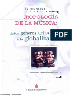Reynoso, Hacia una antropología de la música Cap2
