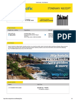 Cebu Pacific - Print Itinerary