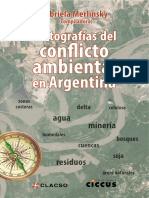 Cartografias Del Conflicto Ambiental en Argentina