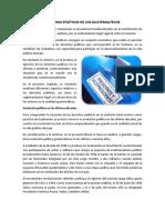 Derechos Políticos de Los Guatemaltecos