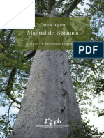 Manual de Botânica - Bragança