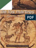 Actas de los Mártires - Daniel Ruiz Bueno, 1951-2