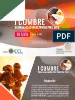 Presentación Expo Fire Peru 2018