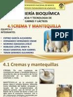 4.1 Crema y Mantequilla