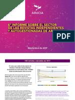 Revistas Culturales Argentinas -Informe 2017