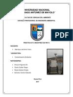 Informe N 3 de Contaminacion Ambiental