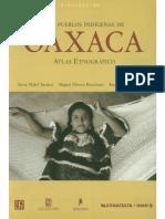 Los Pueblos Indígenas de Oaxaca, Atlas Etnográfico