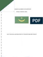 Loi 2010-44 Du 22 Juillet 2010 Portant Code Des Marchés Public.pdf
